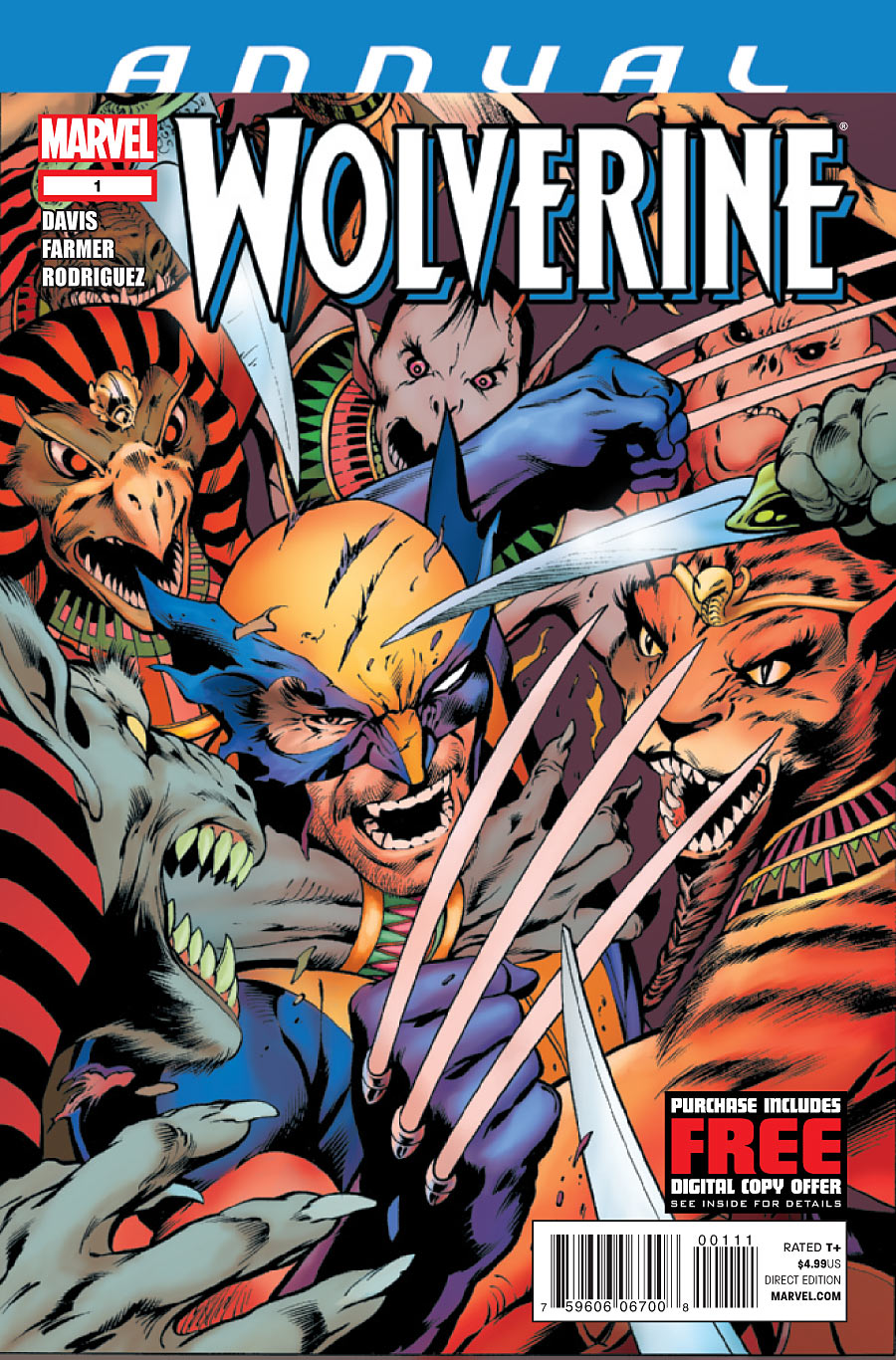 Wolverine Annual Vol 3 1