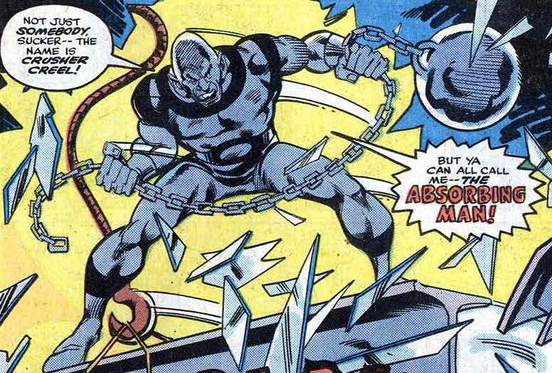 Absorbing Man's Ball and Chain
