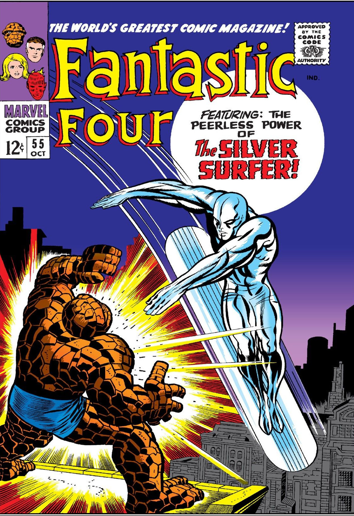 Fantastic Four Vol 1 55