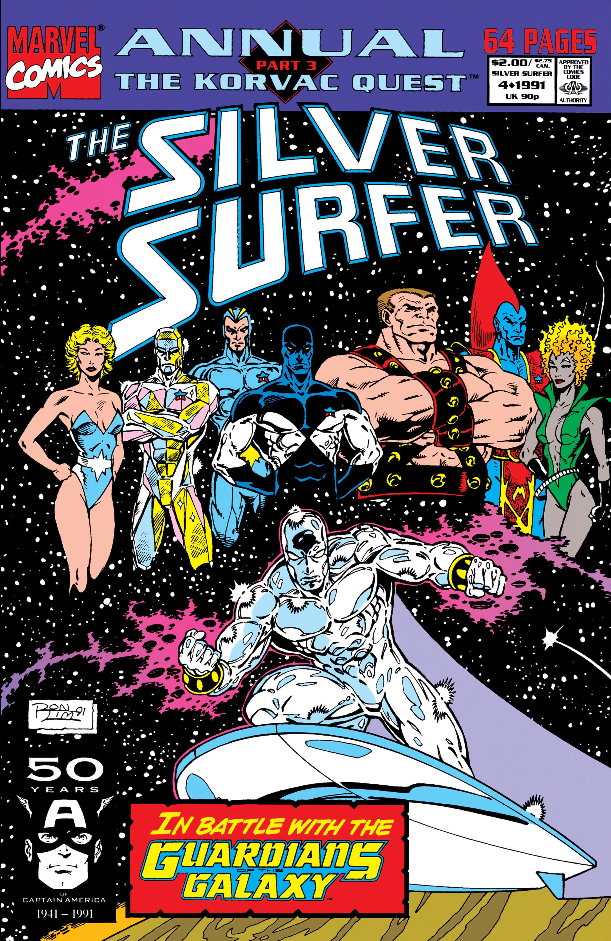 Silver Surfer Annual Vol 1 4