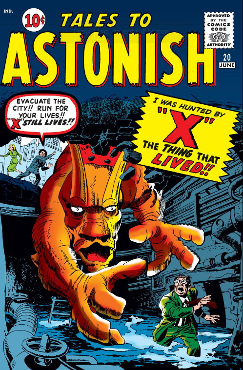 Tales to Astonish Vol 1 20