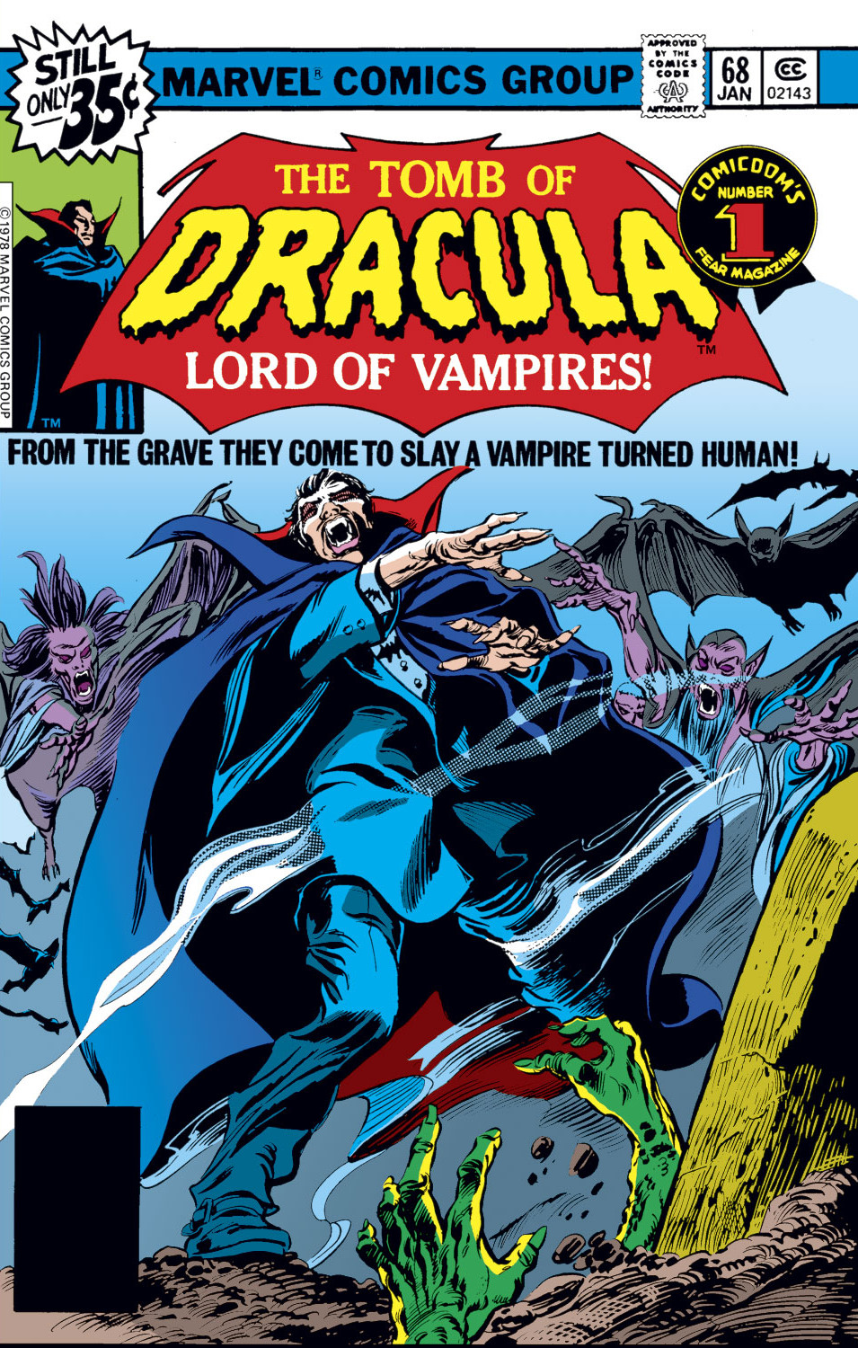 Tomb of Dracula Vol 1 68