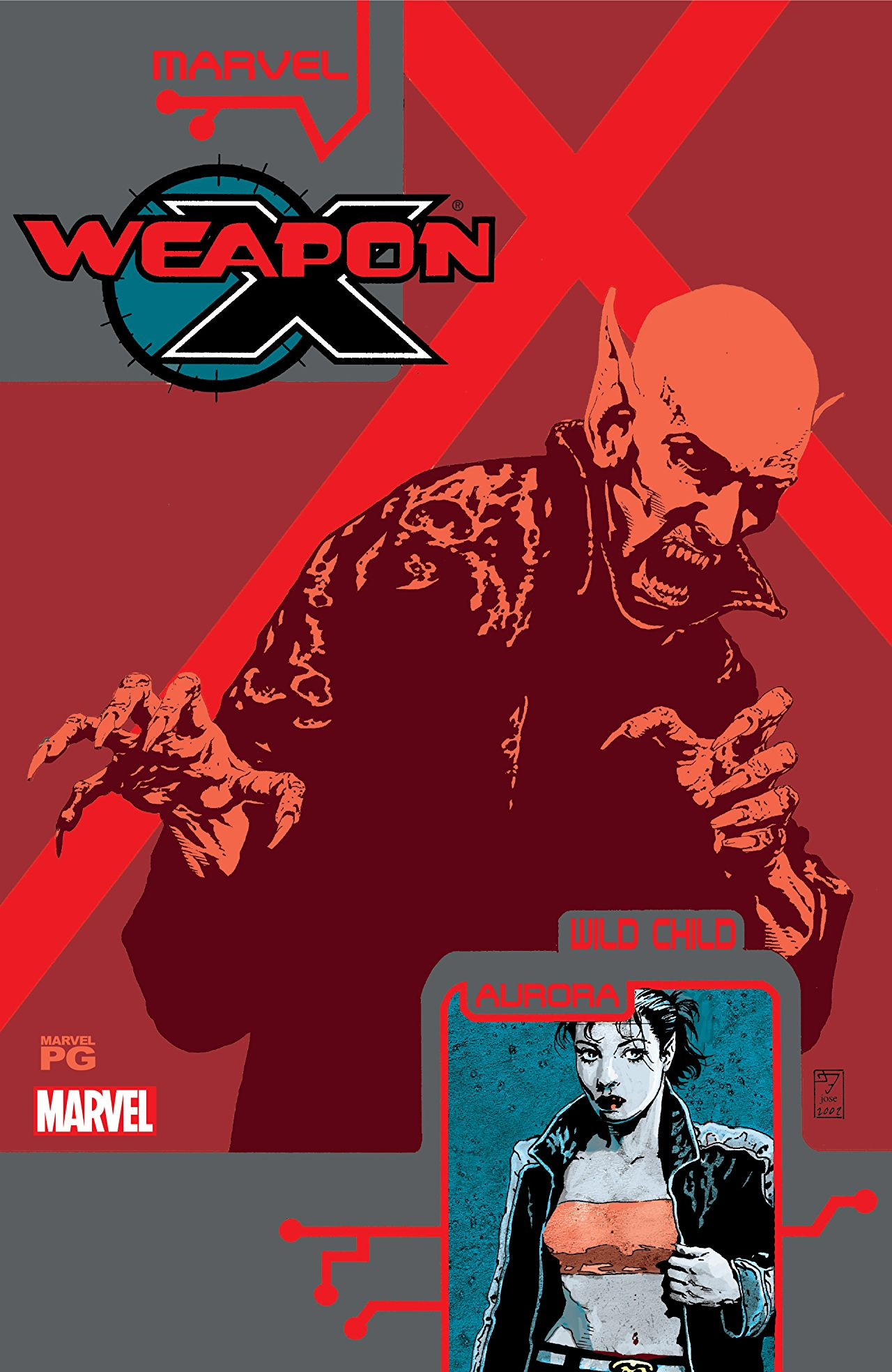 Weapon X: The Draft - Wild Child Vol 1 1