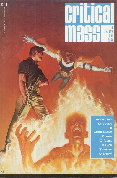 "A Shadowline Saga: ""Critical Mass"" Vol 1 2"