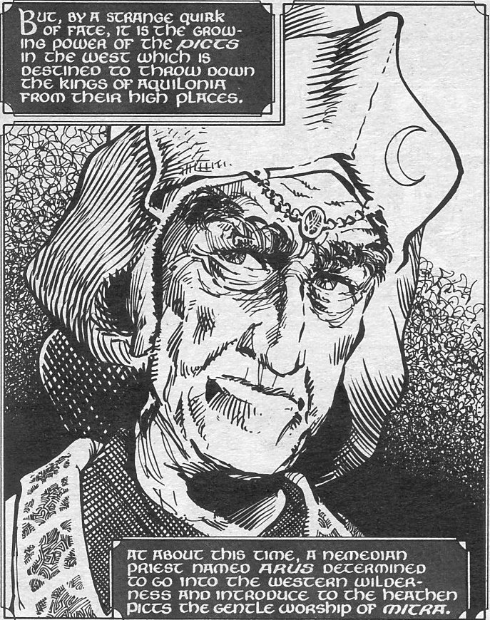 Arus (Nemedian Priest) (Earth-616)