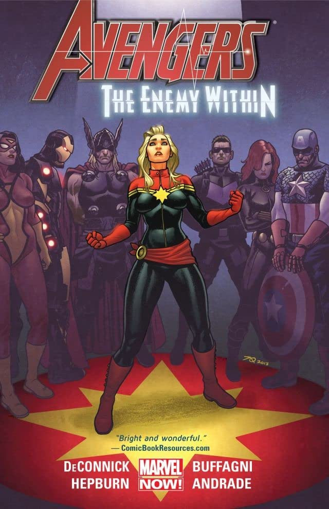 Avengers: The Enemy Within TPB Vol 1 1