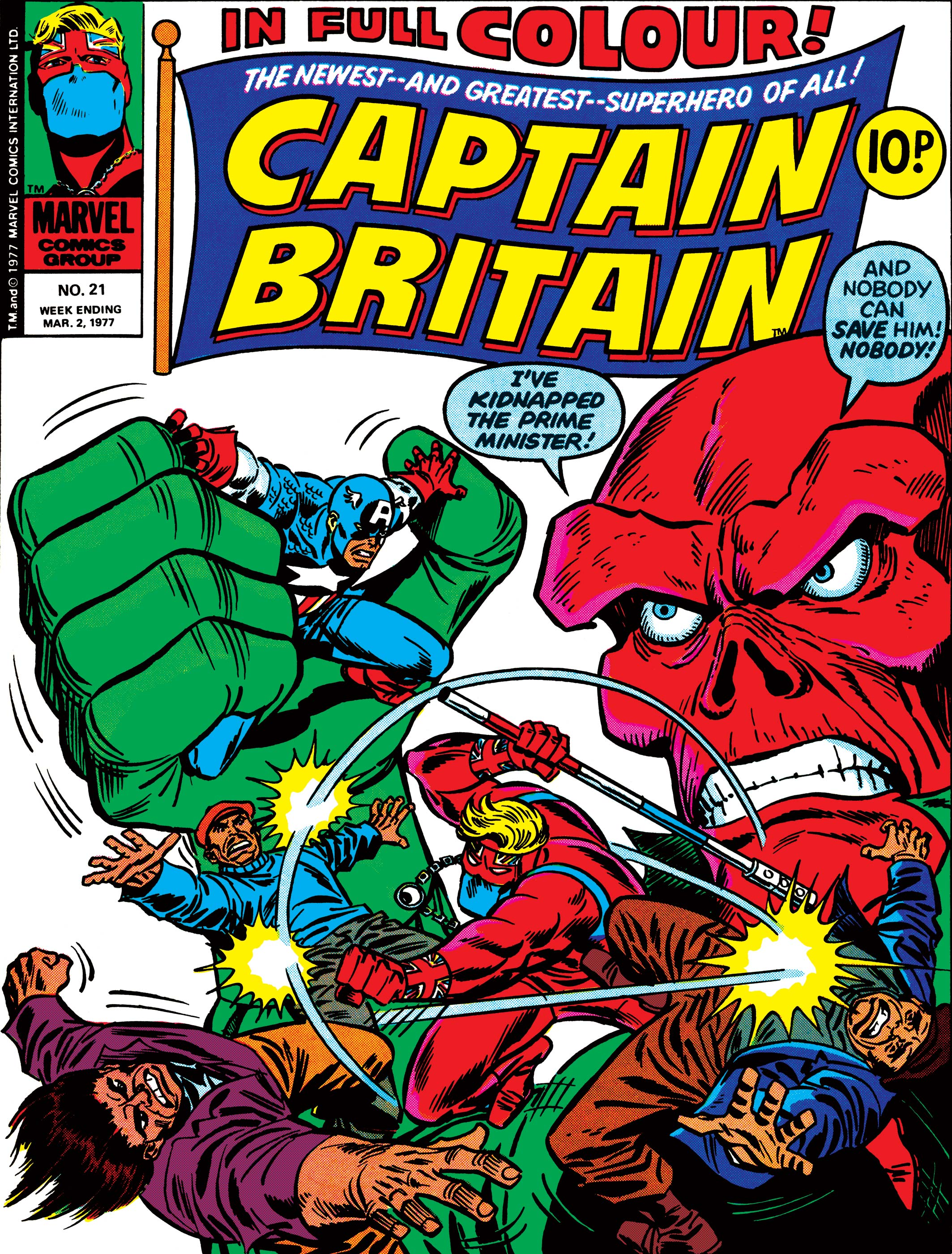 Captain Britain Vol 1 21