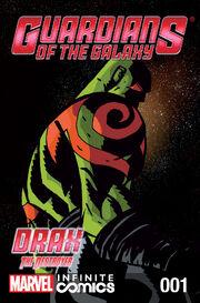 Guardians of the Galaxy Infinite Comic Vol 1 1