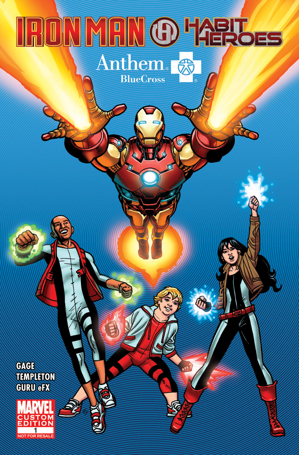 Habit Heroes and Iron Man Vol 1