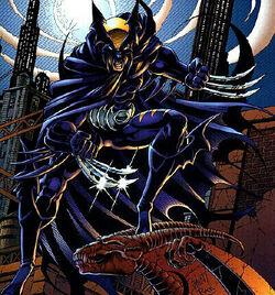 Logan Wayne (Earth-9602) from Legends of the Dark Claw Vol 1 1 (Cover).jpg
