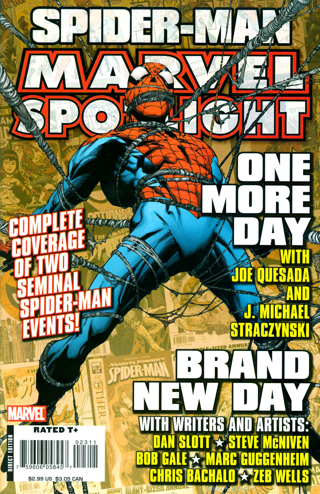 Marvel Spotlight: Spider-Man - One More Day/Brand New Day Vol 1 1
