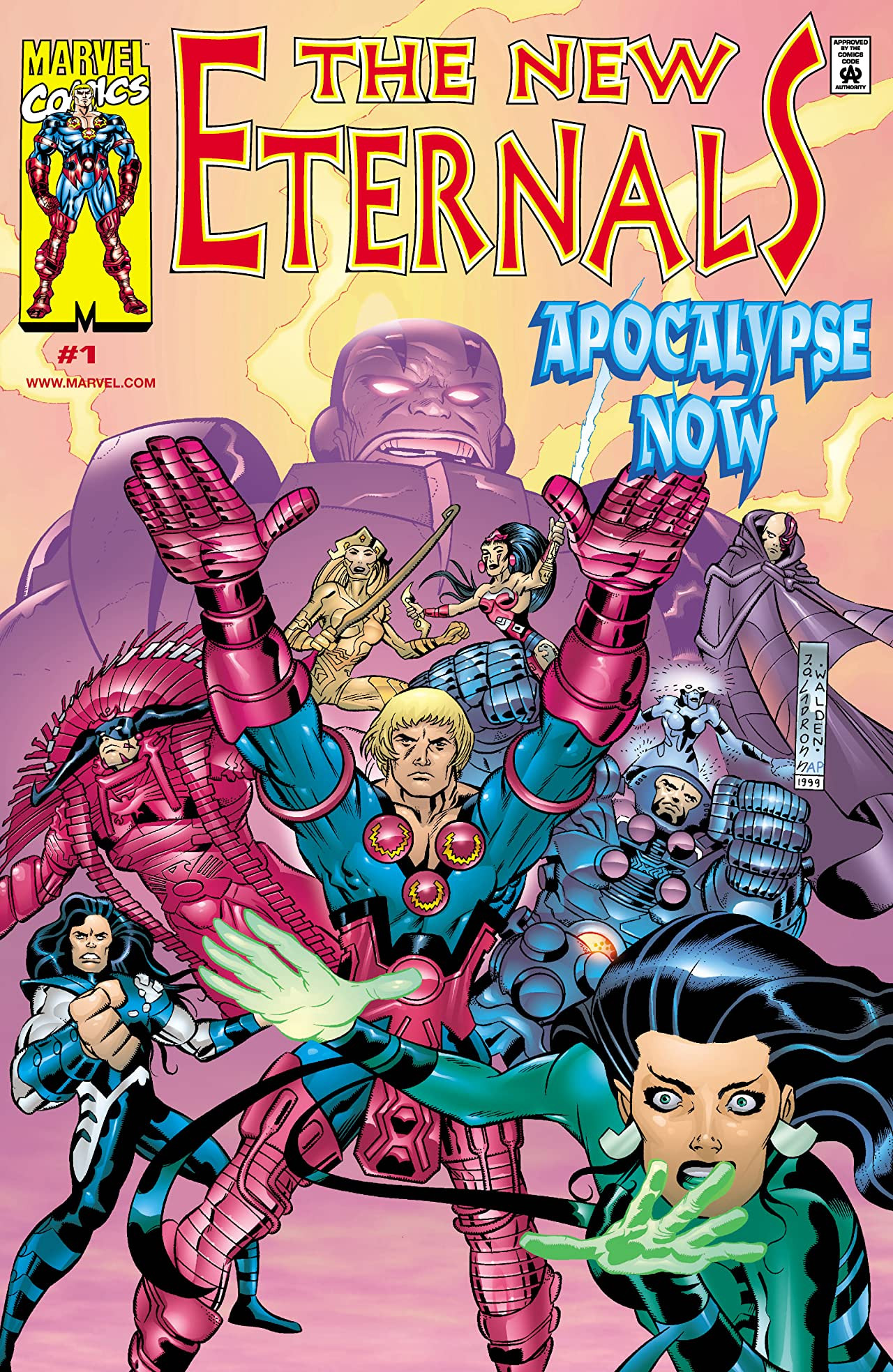 New Eternals: Apocalypse Now Vol 1 1