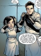 Peter Parker (Earth-616) & Anna Maria Marconi (Earth-616) from Amazing Spider-Man Vol 3 17 001