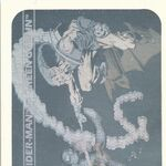 Peter Parker vs. Norman Osborn (Earth-616) from Marvel Universe Cards Series I Holographic 0001.jpg