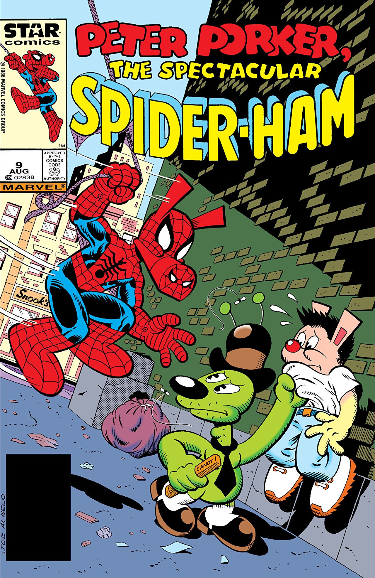 Peter Porker, The Spectacular Spider-Ham Vol 1 9