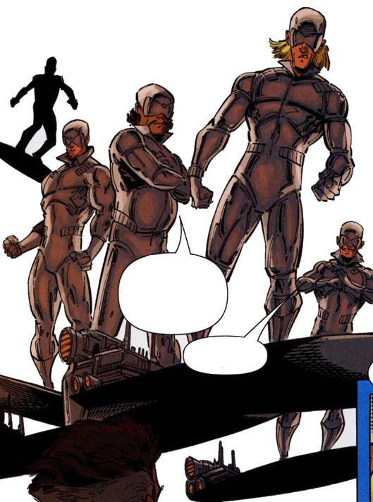 Silver Sentinel Patrol (Earth-20051)