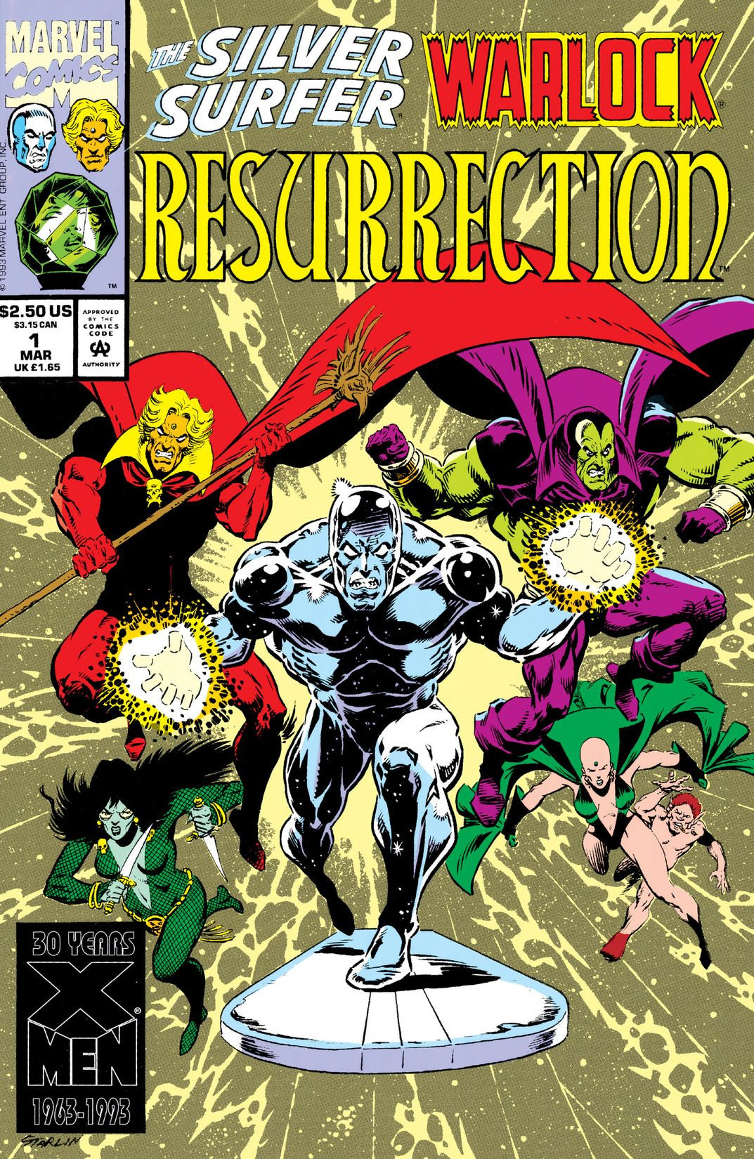 Silver Surfer/Warlock: Resurrection Vol 1 1