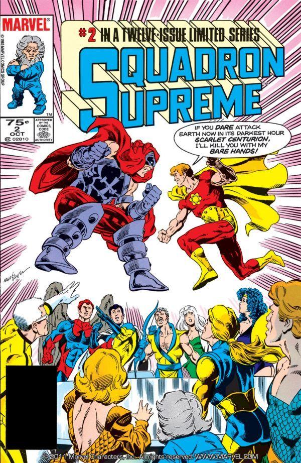 Squadron Supreme Vol 1 2
