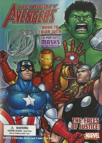 The Mighty Avengers: The Faces of Justice! Vol 1 1