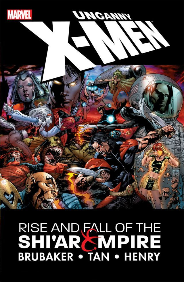 Uncanny X-Men: Rise and Fall of the Shi'ar Empire TPB Vol 1 1