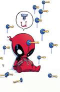 Deadpool Vol 5 1 Baby Variant Textless