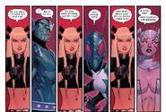 Illyana Rasputina (Earth-616), Hypernova (Earth-616), Offset (Earth-616) and Flaw (Earth-616) from New Mutants Vol 4 5 001