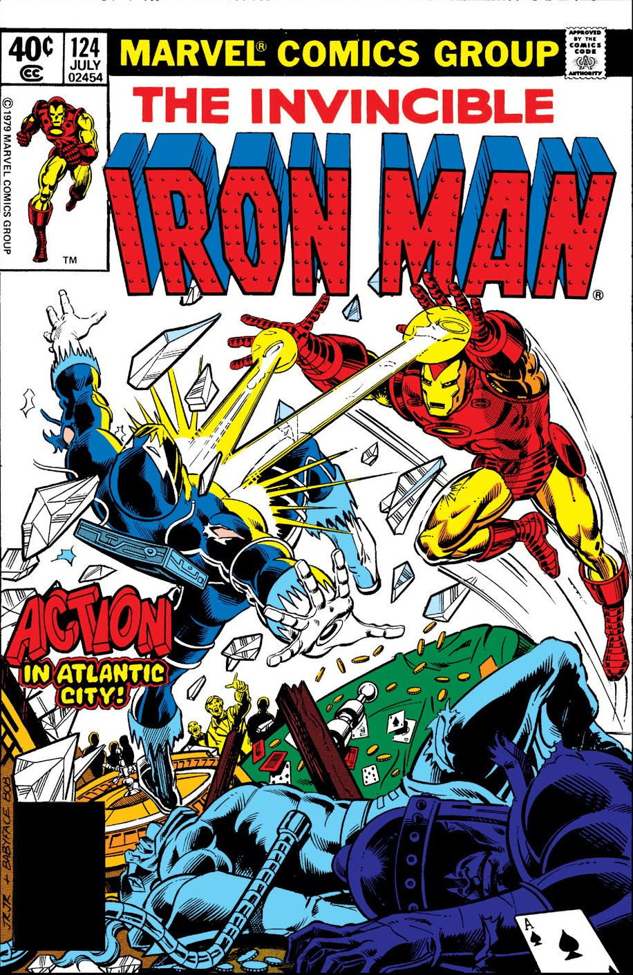Iron Man Vol 1 124