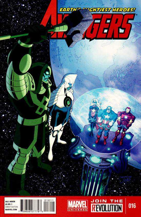 Marvel Universe: Avengers - Earth's Mightiest Heroes Vol 1 16