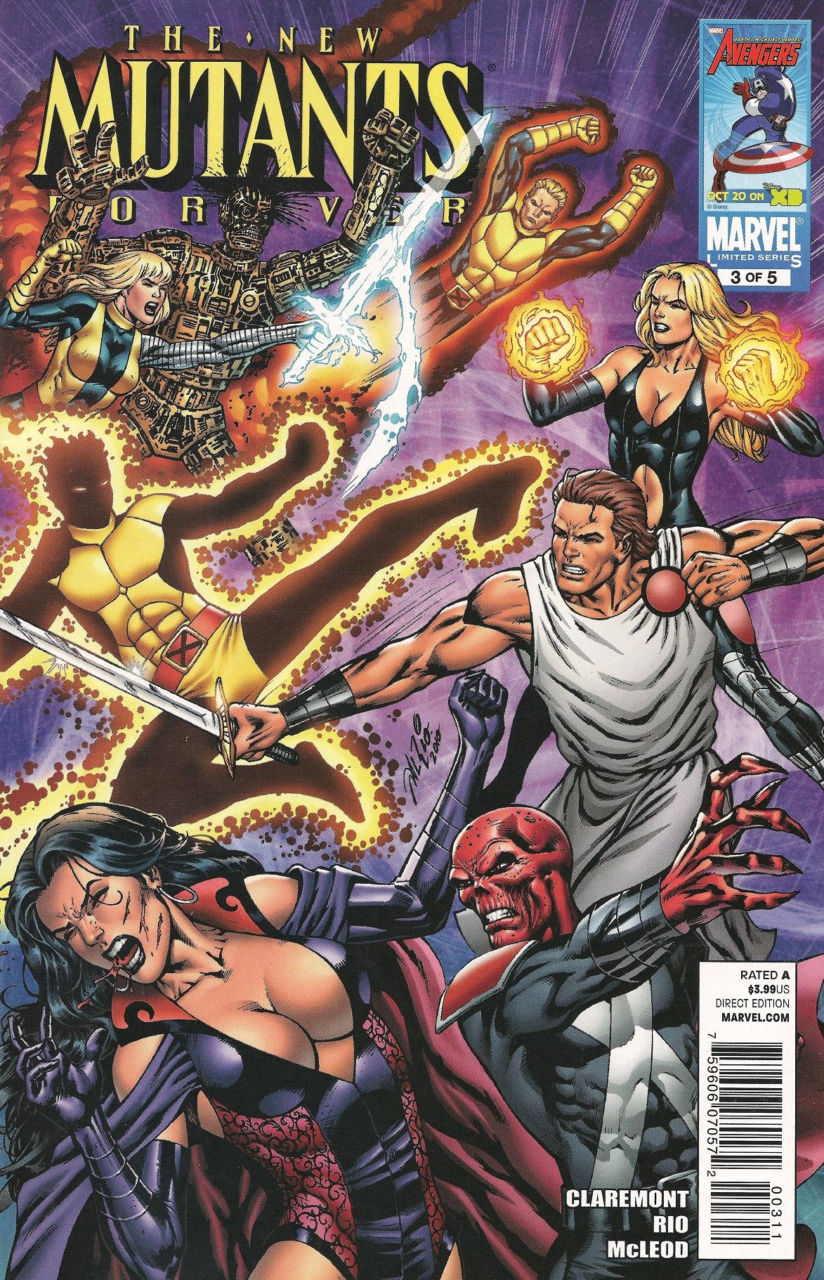 New Mutants Forever Vol 1 3