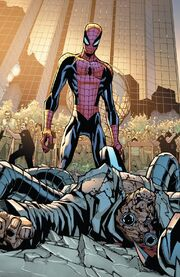 Otto Octavius (Earth-616) and Peter Parker (Earth-616) from Amazing Spider-Man Vol 1 700 0001.jpg