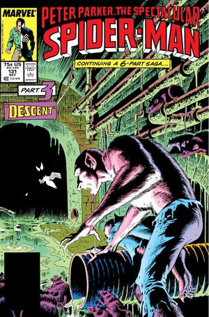 Peter Parker, The Spectacular Spider-Man Vol 1 131.jpg