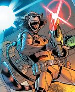 Rocket Raccoon (Earth-616) from Avengers No Road Home Vol 1 1 001