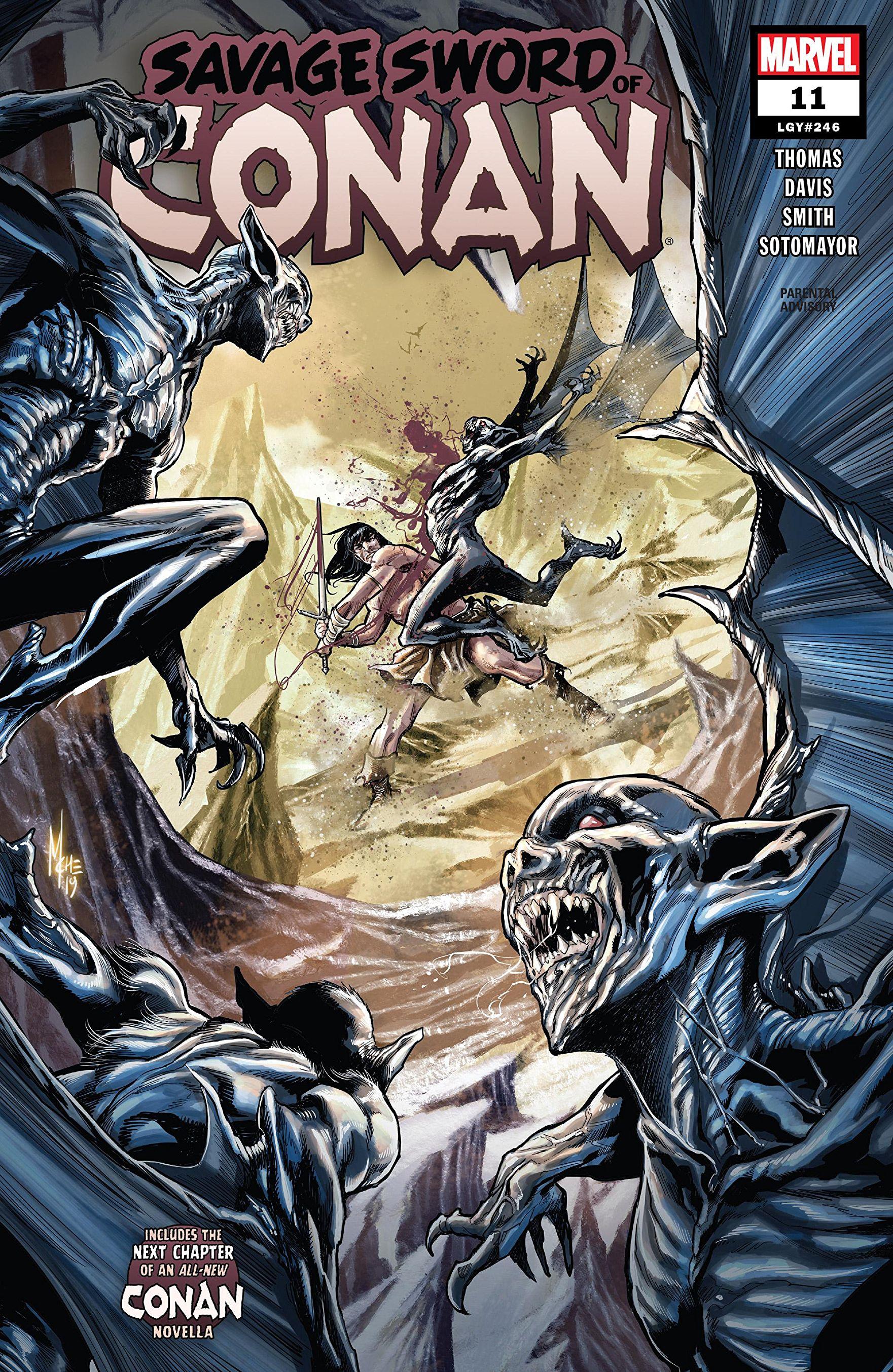 Savage Sword of Conan Vol 2 11