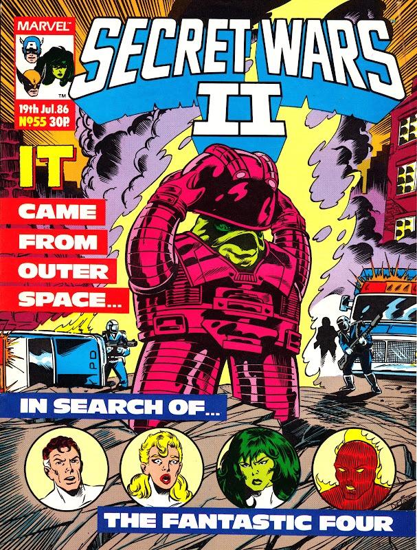 Secret Wars II (UK) Vol 1 55