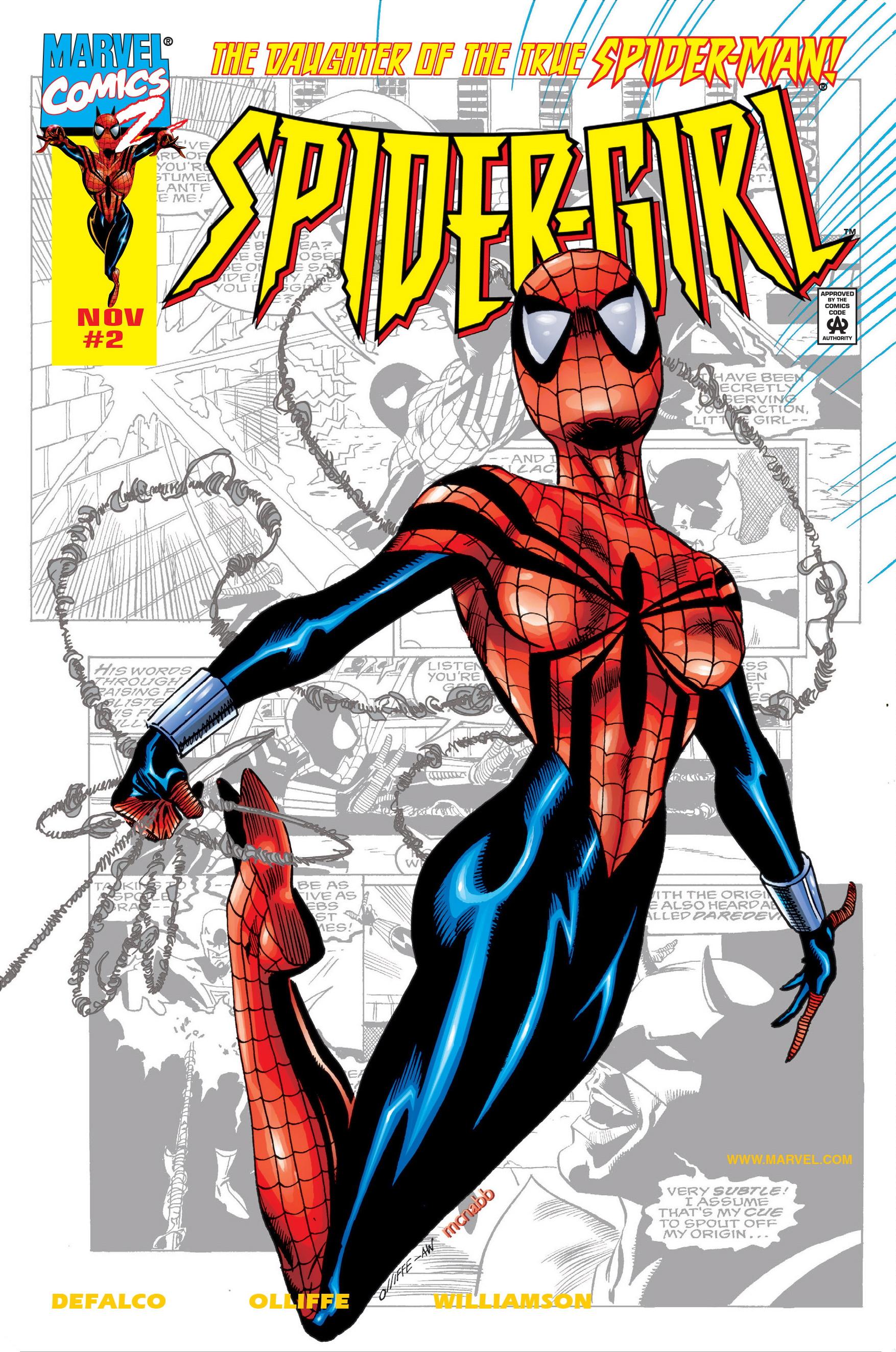 Spider-Girl Vol 1 2 2-for-2 Variant.jpg