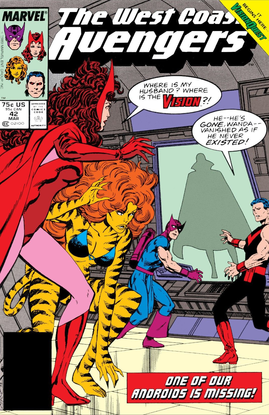 West Coast Avengers Vol 2 42