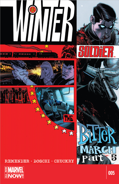 Winter Soldier: The Bitter March Vol 1 5