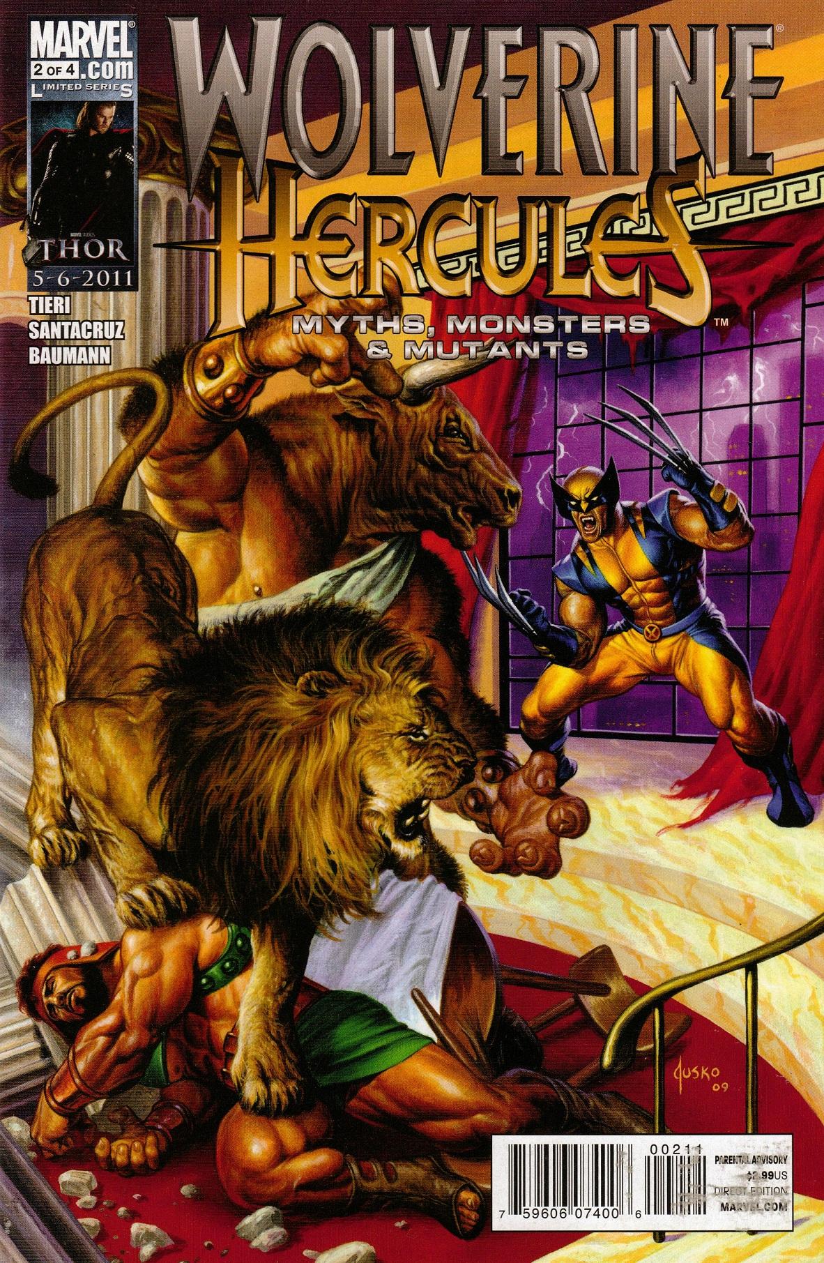 Wolverine/Hercules: Myths, Monsters & Mutants Vol 1 2