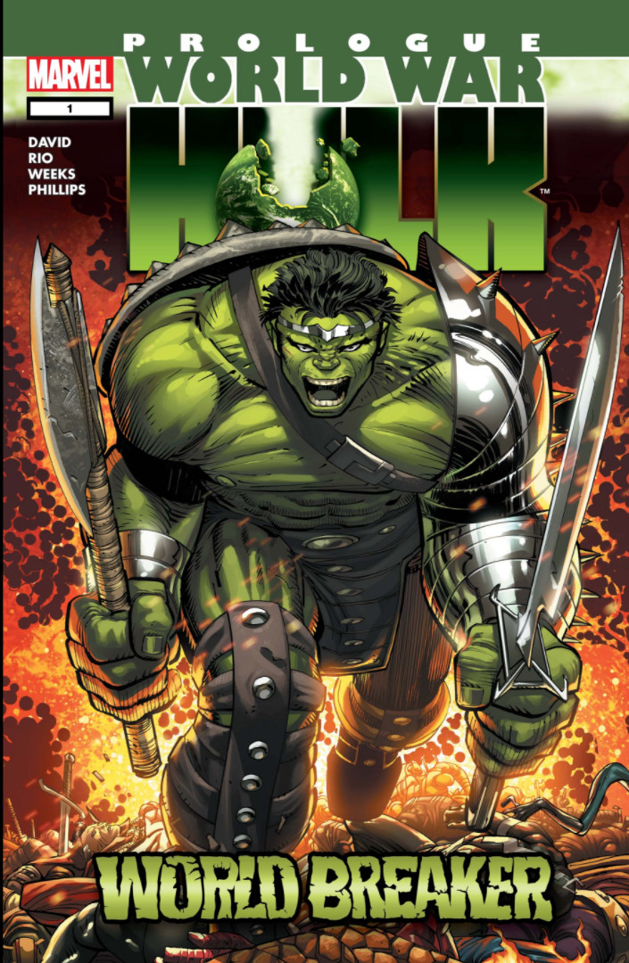 World War Hulk Prologue: World Breaker Vol 1 1