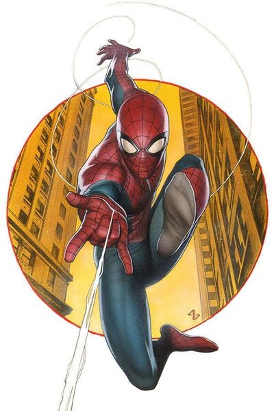 Amazing Spider-Man Vol 3 1 Granov Variant Textless.jpg