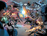 Civil War II Vol 1 5 pages 3-4
