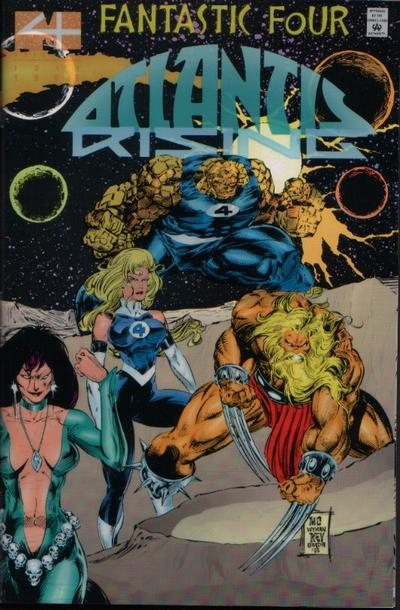 Fantastic Four: Atlantis Rising Vol 1 2