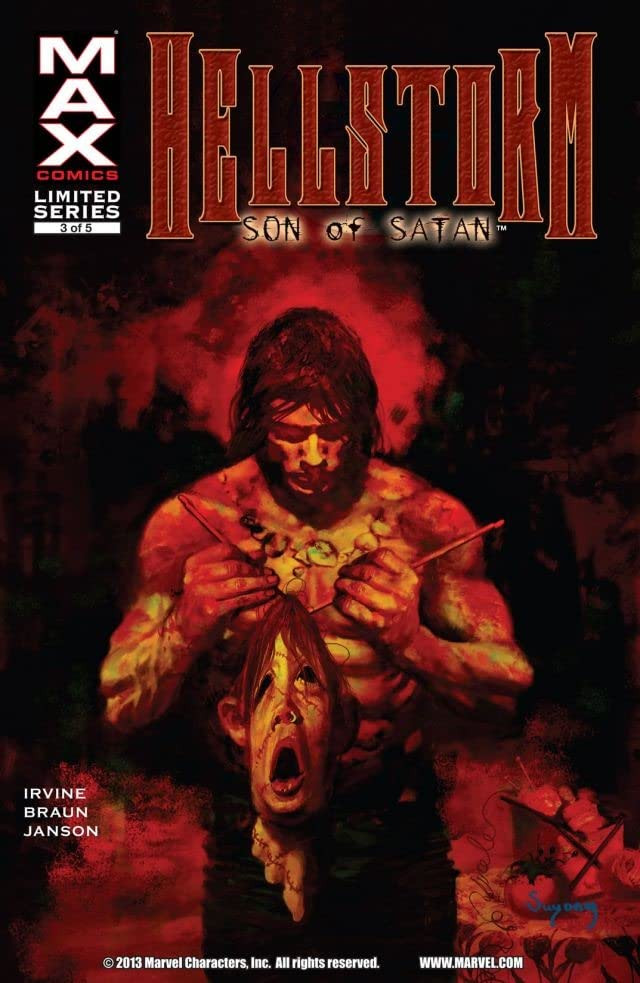 Hellstorm: Son of Satan Vol 1 3