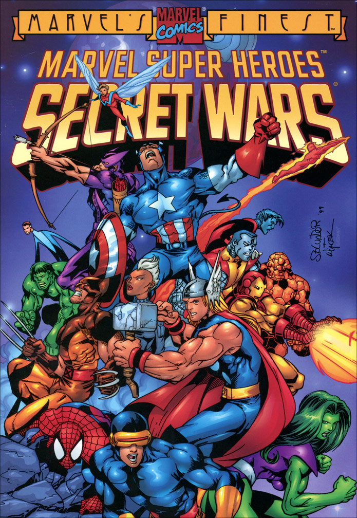 Marvel's Finest: Marvel Super Heroes Secret Wars Vol 1 1