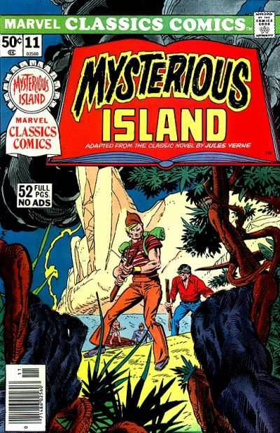 Marvel Classics Comics Series Featuring The Mysterious Island Vol 1 1