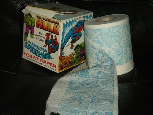 The Amazing Spider-Man & The Incredible Hulk: Toilet Paper Vol 1