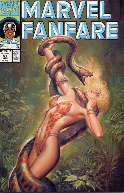 Marvel Fanfare Vol 1 57