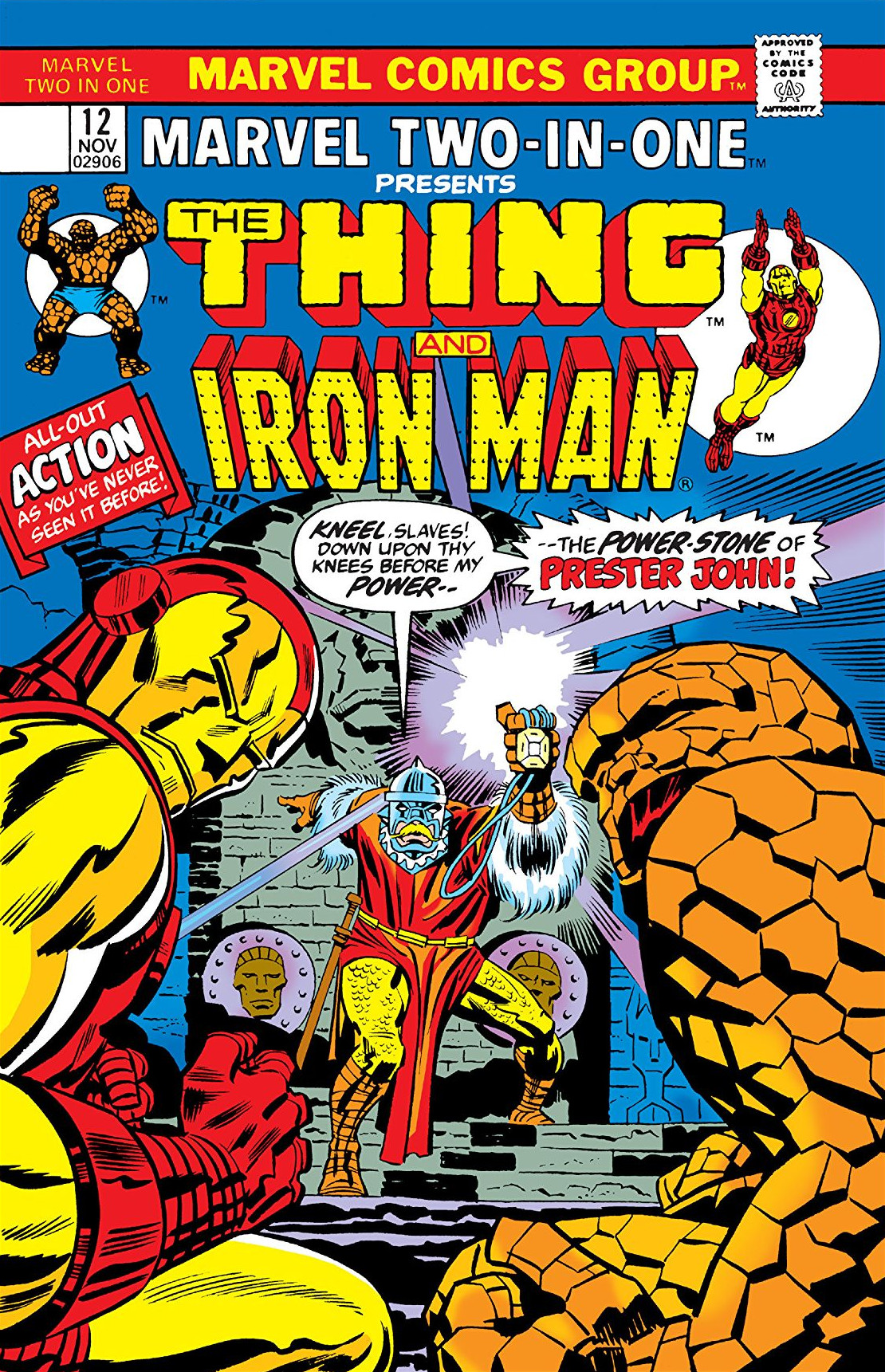Marvel Two-In-One Vol 1 12