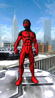 Peter Parker (Kaine) (Earth-TRN497) from Spider-Man Unlimited (video game) 001.png