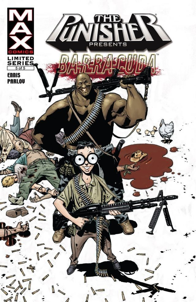 Punisher Presents Barracuda MAX Vol 1 5